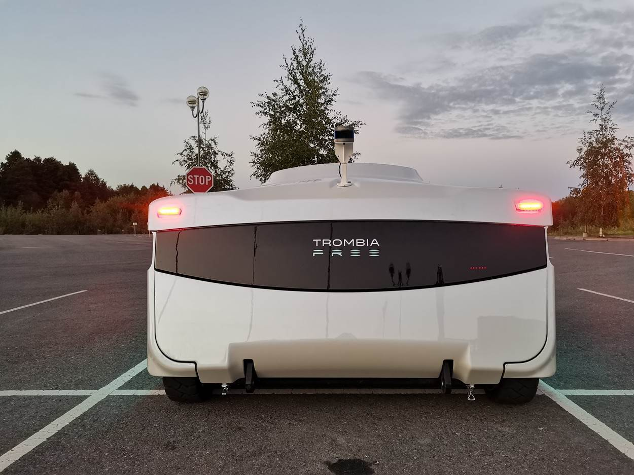 Helsinki;Finland;Trombia Free;automated;autonomous;street cleaner;sweeper;world;first
