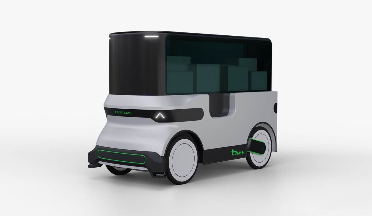DuckTrain;trailer;bicycle;convoy;connected;sensors;DroidDrive