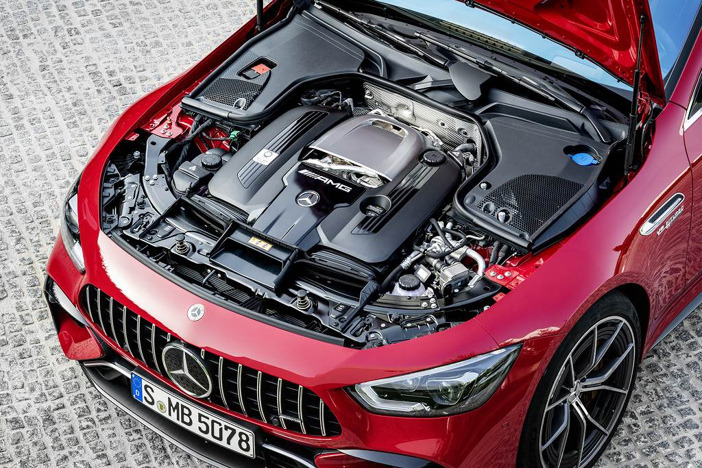 Mercedes-Benz Cars;World premiere of the first performance hybrid from Mercedes-AMG;Daimler Global MediaSite;AMG GT 4-Door Coupé;Exterior;MediaSite;Brands & Products;09 - 2021;Mercedes-AMG;2021;Press Releases sorted by years