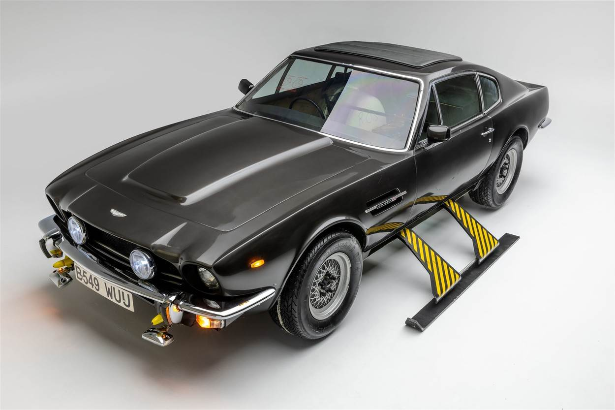 James Bond;vehicles;cars;boats;planes;iconic;movies;exhibition;007;films;Bond in Motion;The Petersen Automotive Museum;largest collection;1964 Aston Martin DB5;1977 Lotus Esprit S1 Submarine;The Spy Who Loved Me;1999 Heron XC-70 Parachute Parahawk;The World Is Not Enough;1985 Aston Martin V8