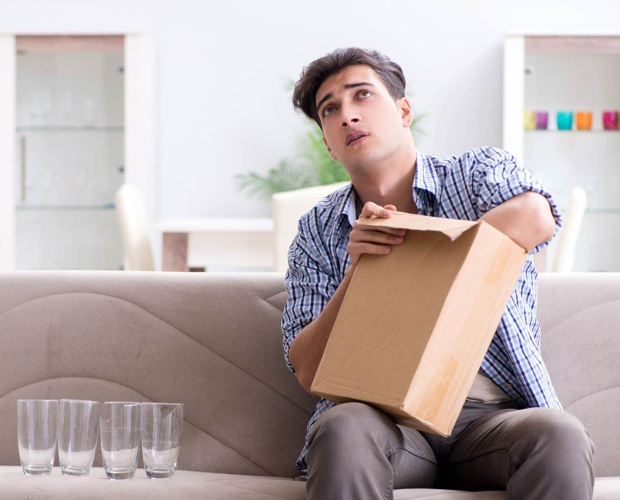 box;business;businessman;buying;carton;case;christmas;delivering;delivery;disappointed;dissatisfied;ecommerce;error;frustrated;gift;glass;glasses;home;house;internet;logistics;mail;man;mistake;online;opening;order;ordering;package;packet;parcel;post;postal;postbox;present;problem;purchase;receiving;sale;service;shipment;shipping;shopper;shopping;surprise;unboxing;unpacking;work;wrong;xmas