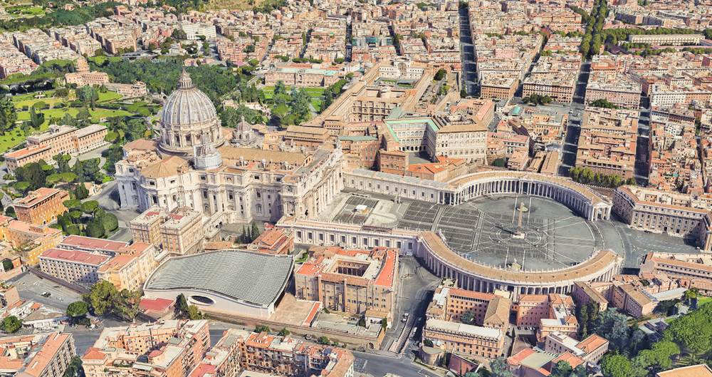 pope,vatican city,capital,aerial photograph,city,christianity,ch