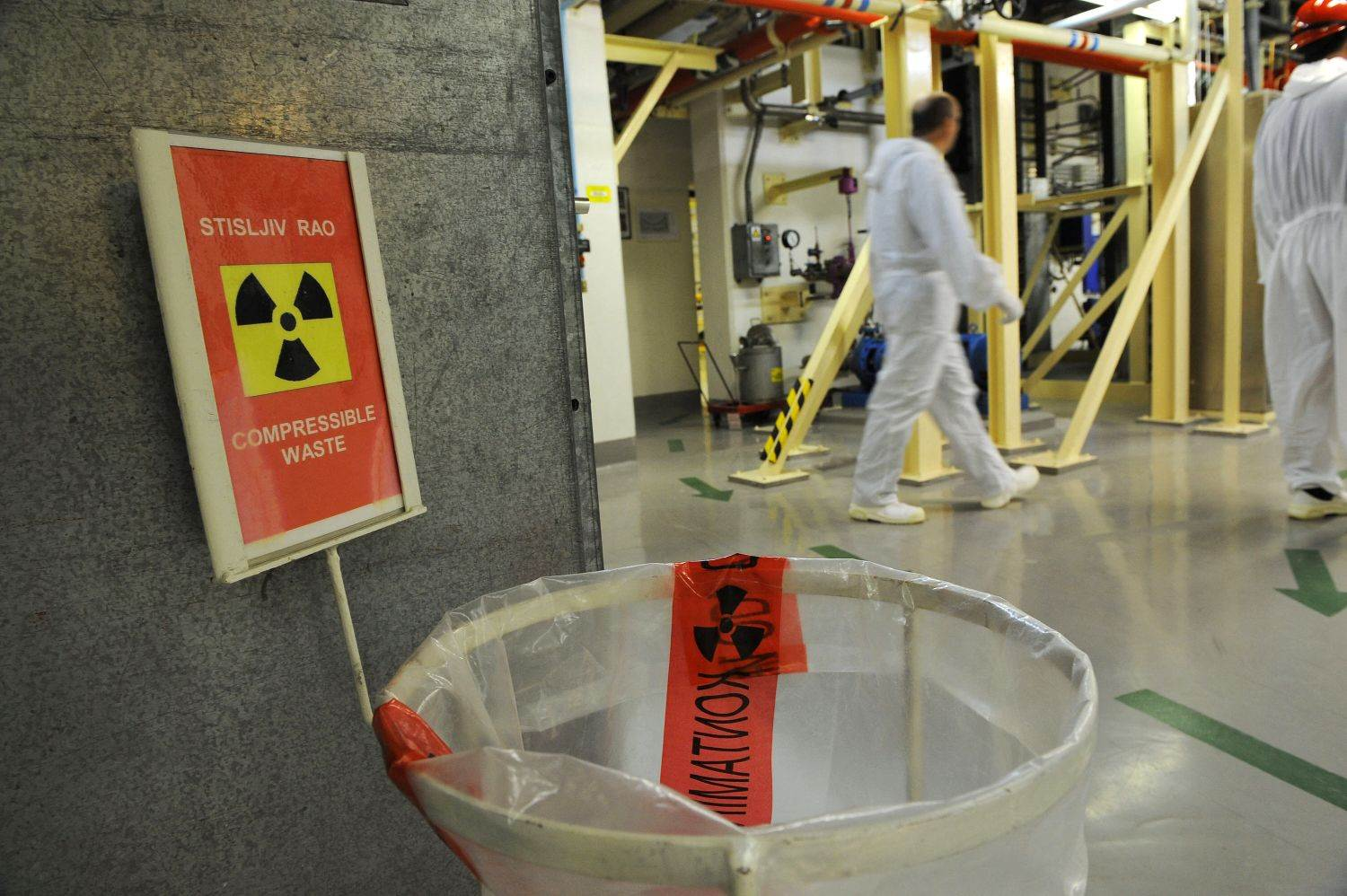 LOGO;ILLUSTRATION;NUCLEAR ENERGY;INTERIOR VIEW;NULL;NUCLEAR POWER PLANT;TOPSHOTS;industrial accident;nuclear accident;accident;disaster and accident;EU;SLOVENIA;NUCLEAR;ALERT;category_code_dis