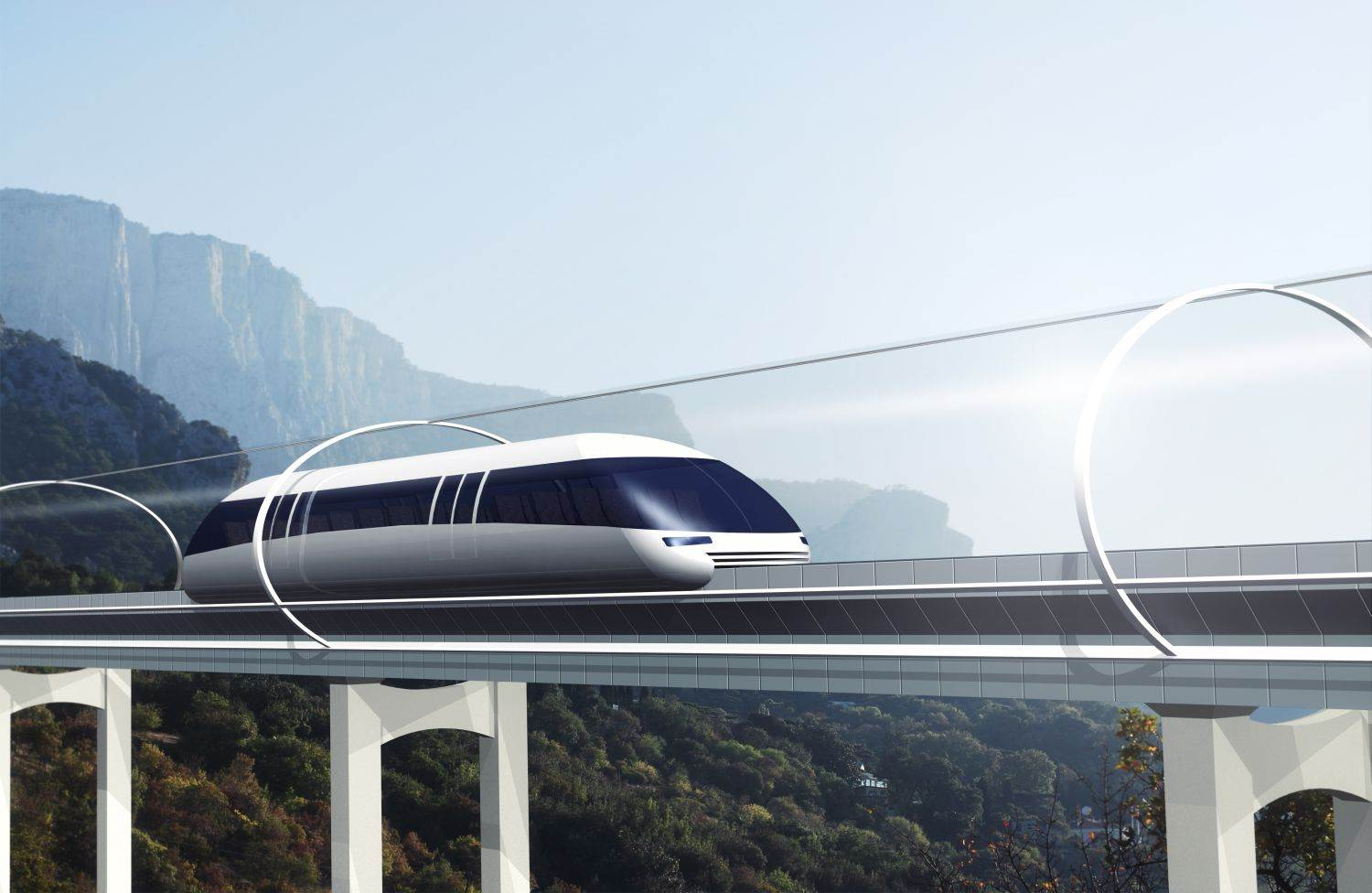 quickly,vacuum tunnel,express,maglev trail,trail,3d project,conn